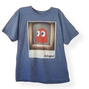 Pac-Man Mens Inky Instaghost T-Shirt